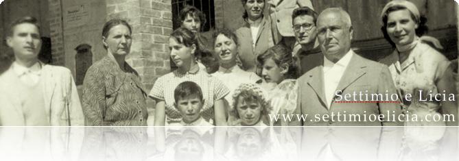 Foto della famiglia Manelli verso il 1940
